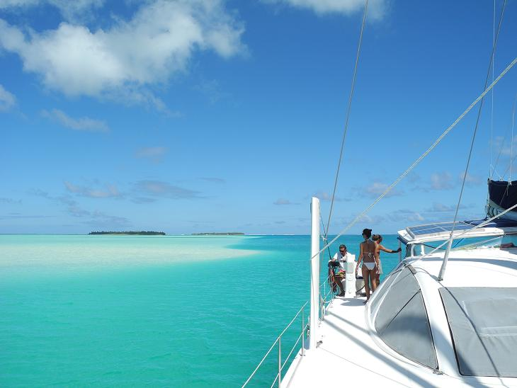 catamaran charter in french polynesia