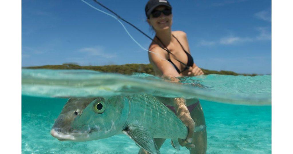 bonefish in the bahamas