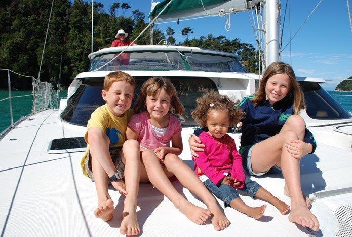 child friendly catamaran charter