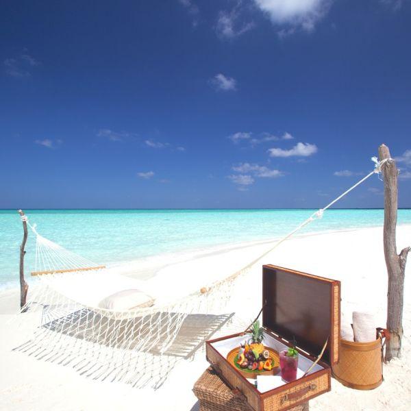private beach barbeque