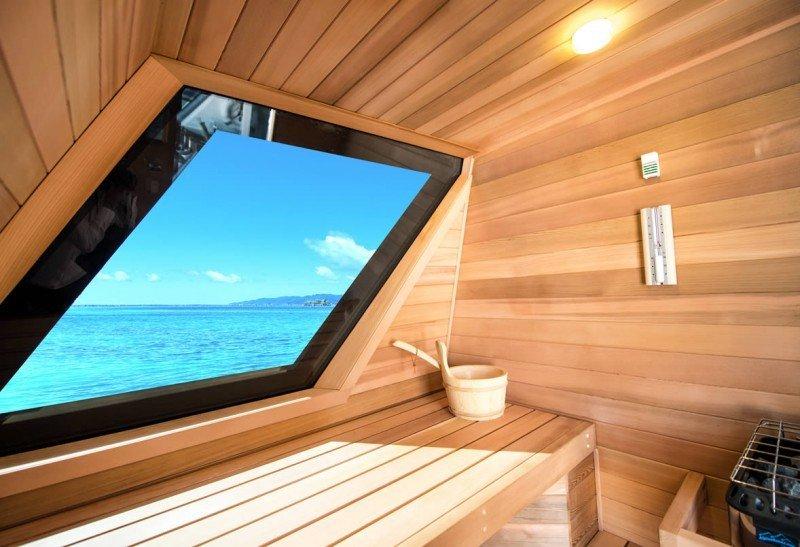 Yacht Charter sauna