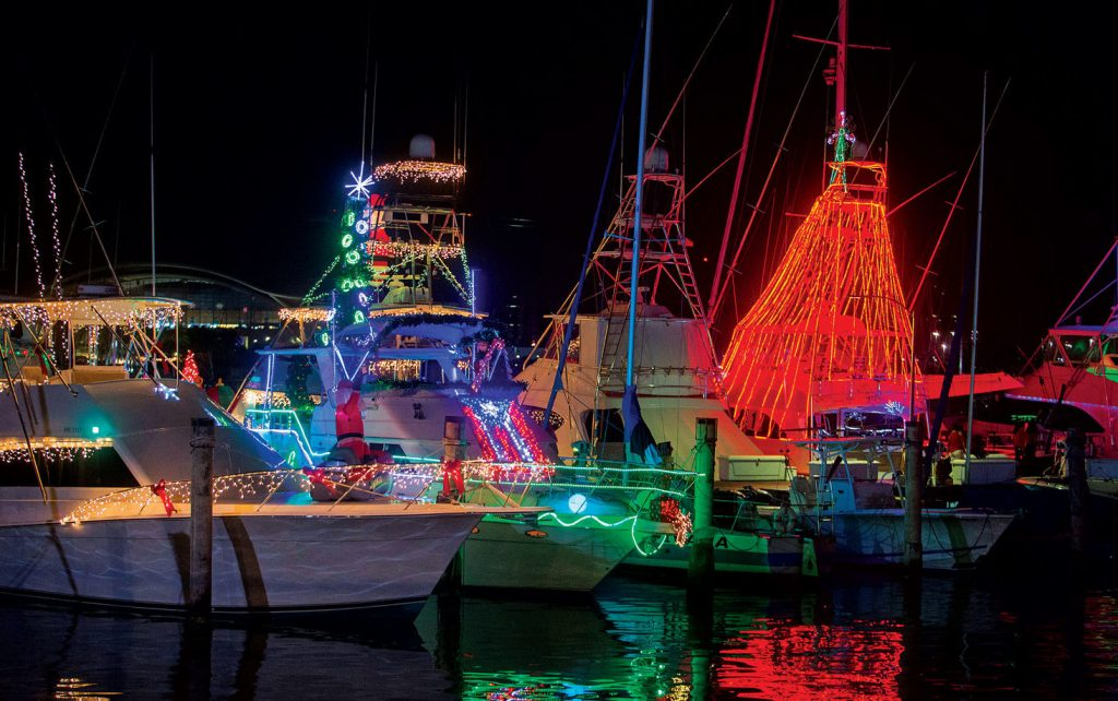 annual holiday boat procession bvi