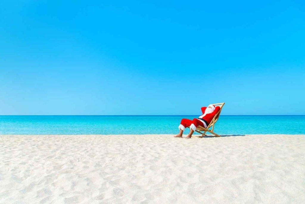 santa beach bvi christmas