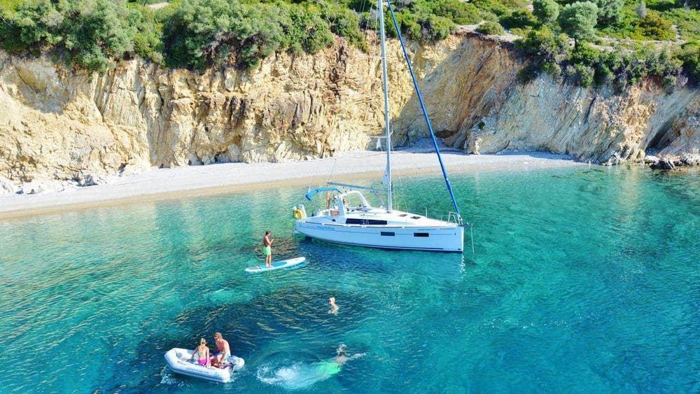 saronic islands sailing