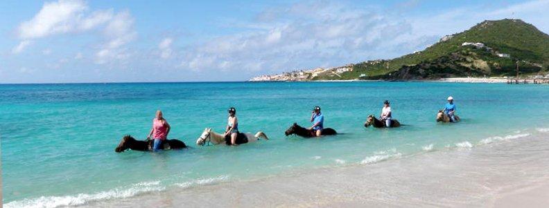 st martin horse riding