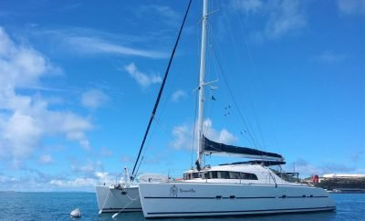 Welcome to Dreamcatcher. An interview with the Crew of Sail Catamaran Dreamcatcher