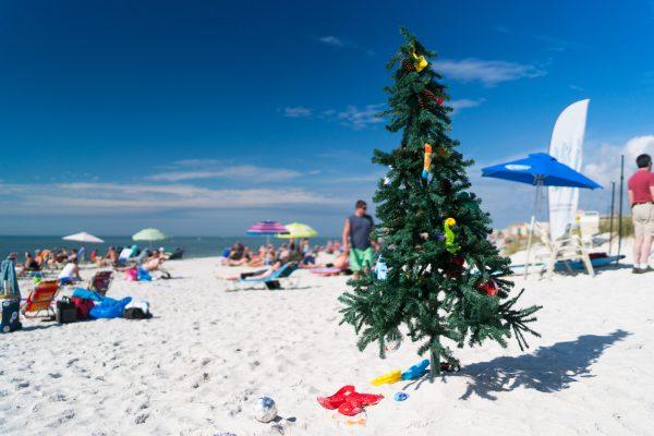 florida beach christmas