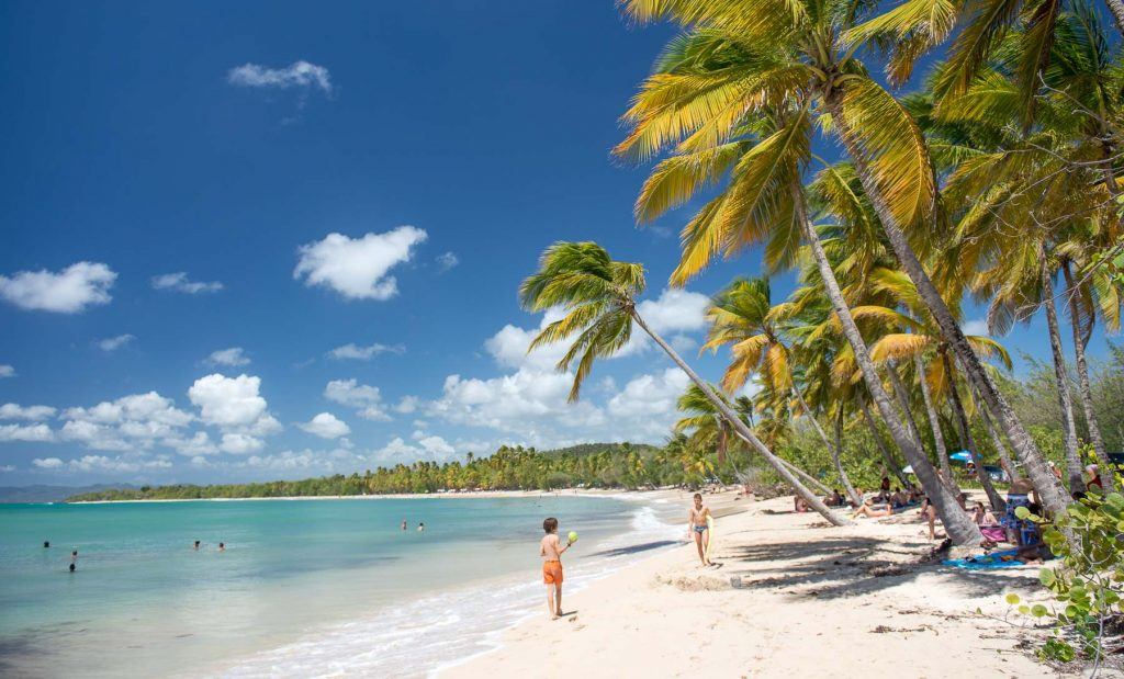 Martinique Kids Beach
