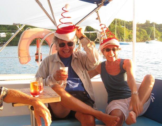 martinique christmas catamaran