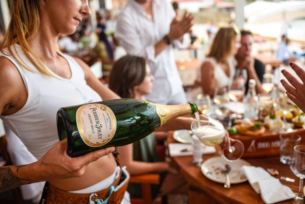st barts champagne