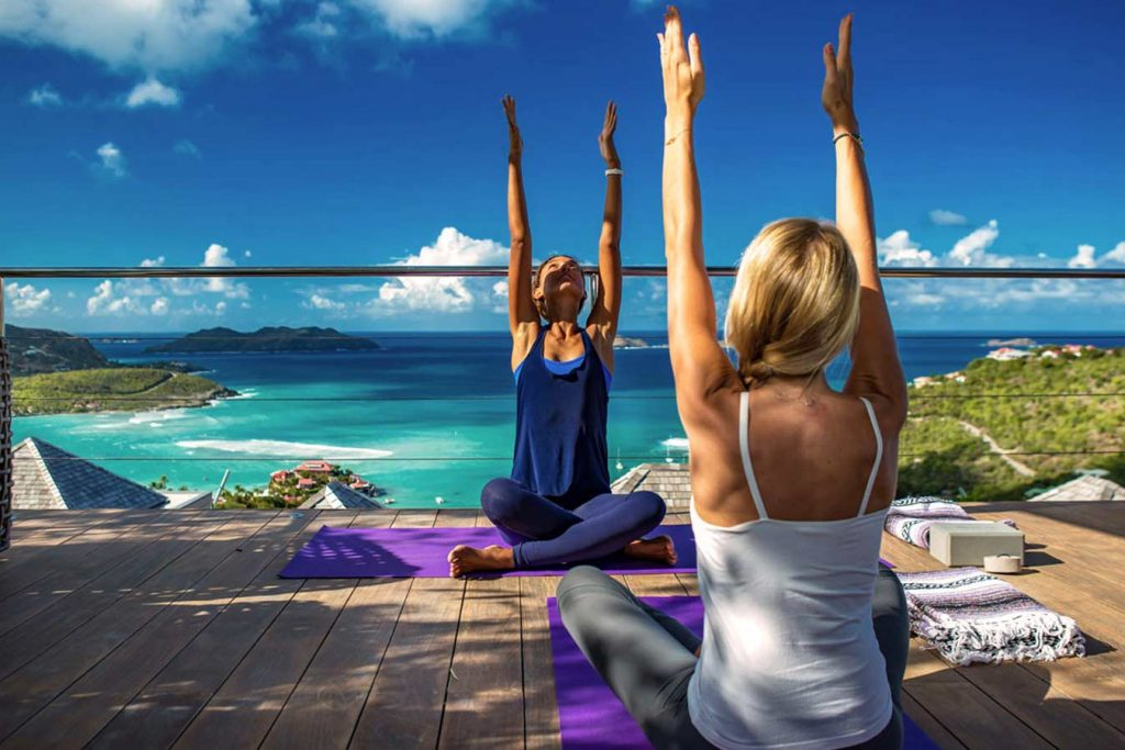 yoga st barts