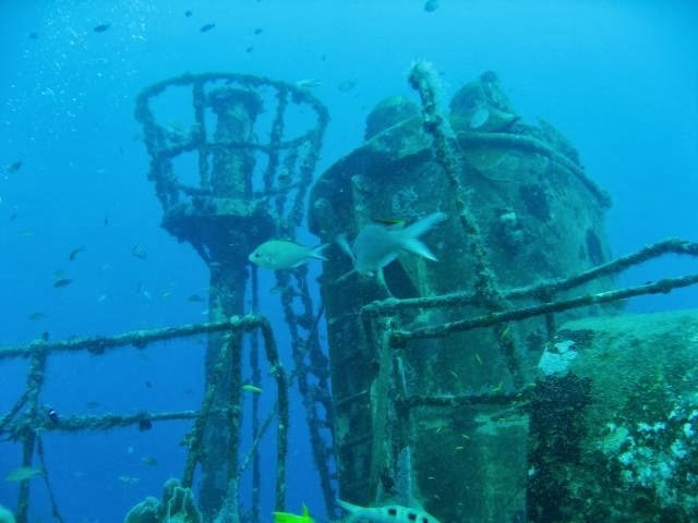 guadeloupe wreck dive