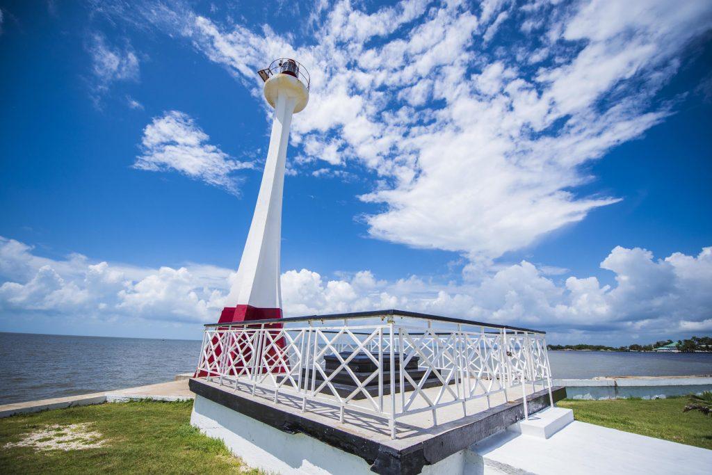 belize lighthouse