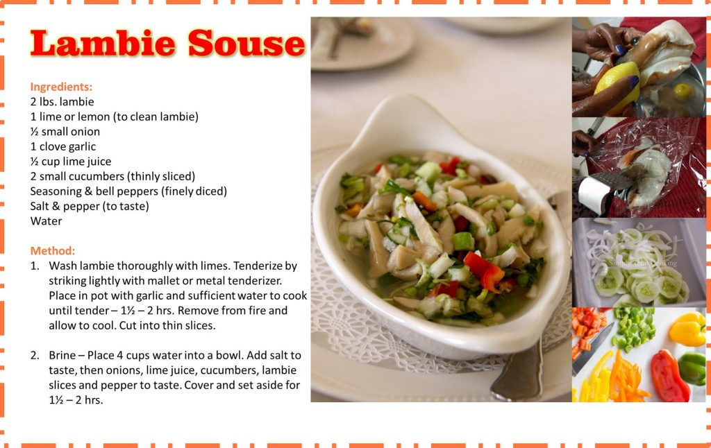 lambie souse recipe